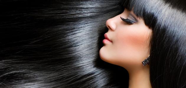 صورة وصفات طبيعية لصبغ الشعر باللون الأسود