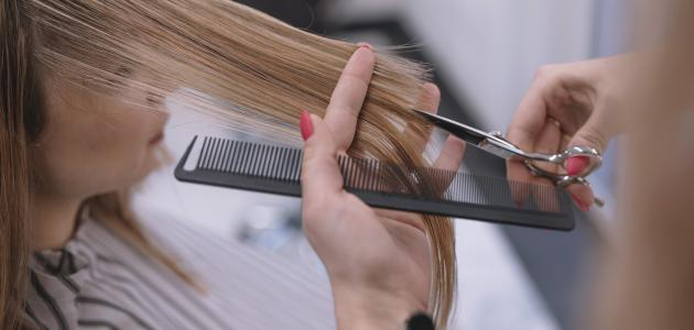صورة كيفية المحافظة على الشعر من التقصف