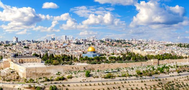 صورة مساحة مدينة القدس