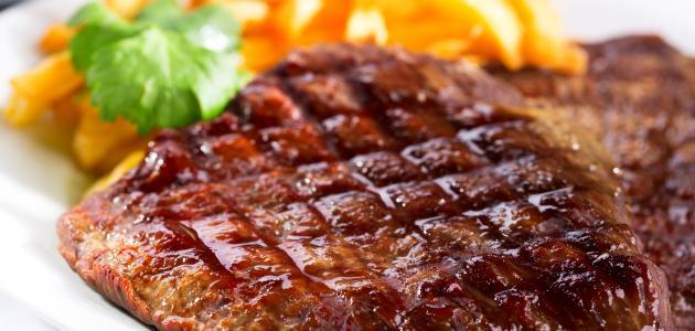 صورة طريقة عمل لحم مشوي بالفرن