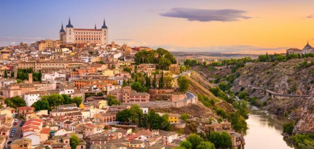 صورة مدينة طليطلة الإسبانية