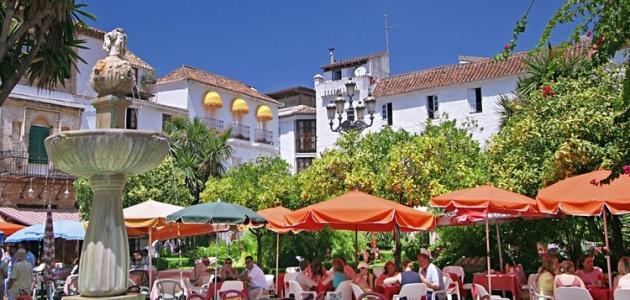 صورة مدينة ماربيا في إسبانيا