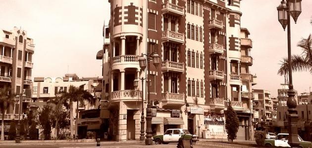 صورة مدينة دمنهور قديماً