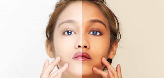 صورة طريقة عمل قناع تبييض الوجه