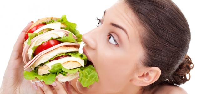 صورة أكلات تزيد الوزن بسرعة