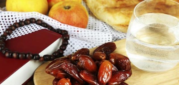 صورة زيادة الوزن في شهر رمضان