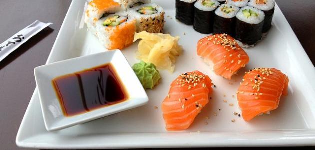 صورة أكلات يابانية بسيطة