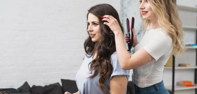 صورة طرق تجعيد الشعر في المنزل
