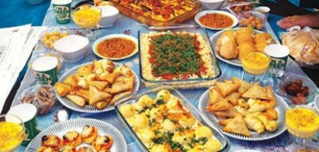 صورة طرق لزيادة الوزن في رمضان