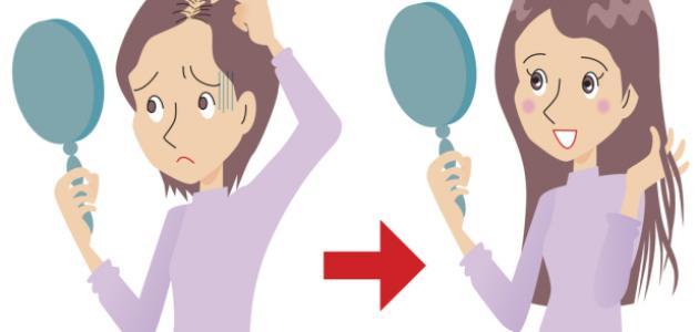 صورة كيف تعالج سقوط الشعر