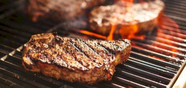 صورة كيف يكون اللحم المشوي طرياً