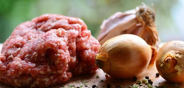 صورة أكلات بمفروم اللحم