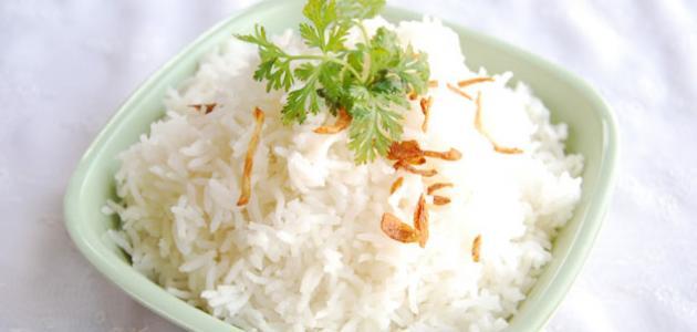 صورة طريقة الأرز المسلوق