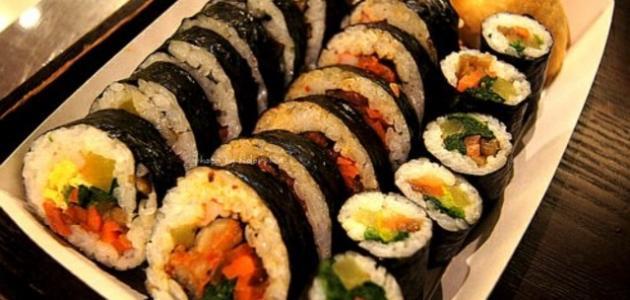 صورة كيفية تحضير الأكل الكوري