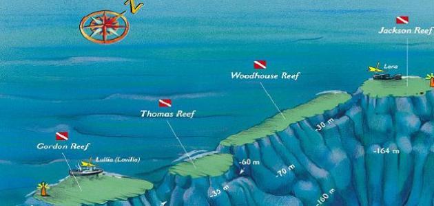 صورة أهم الجزر في البحر الأحمر
