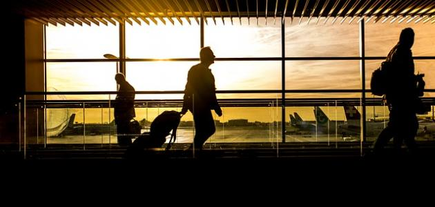صورة ما يقال للعائد من السفر
