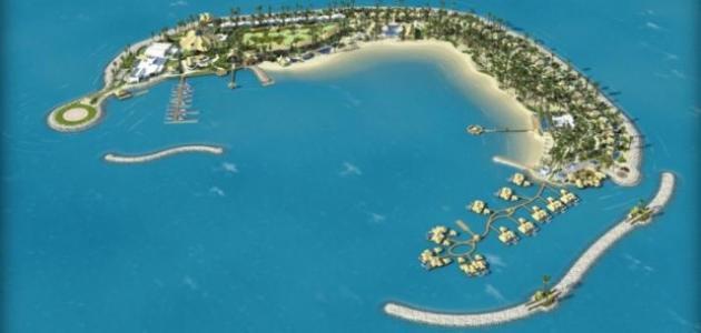 صورة جزيرة البنانا في قطر