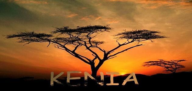 صورة أين تقع كينيا على الخريطة