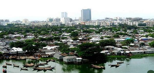 صورة أين تقع مدينة دكا