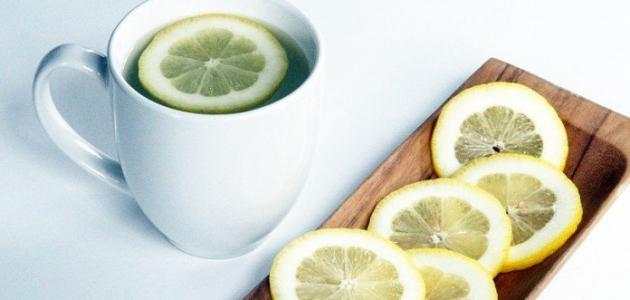 صورة فوائد الليمون مع الماء الساخن