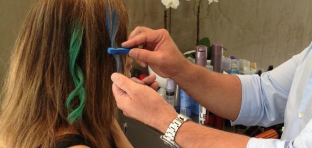 صورة كيف تصنع طباشير الشعر