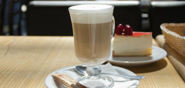 صورة عمل قهوة بالحليب